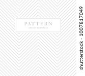simple chevron seamless pattern.... | Shutterstock .eps vector #1007817049