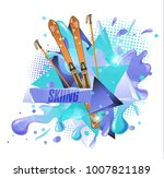 abstract colored backgrounds ... | Shutterstock .eps vector #1007821189