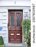 traditional door. germany | Shutterstock . vector #1007833987