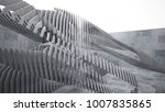 abstract white and concrete... | Shutterstock . vector #1007835865