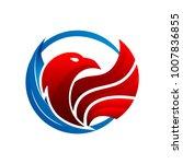 luxury eagle logo eagle logo...   Shutterstock .eps vector #1007836855