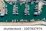 aerial bird's eye view of... | Shutterstock . vector #1007837974