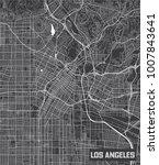 minimalistic los angeles city... | Shutterstock .eps vector #1007843641