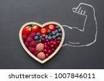 health diet heart abstract... | Shutterstock . vector #1007846011