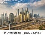 scenic panoramic view of modern ... | Shutterstock . vector #1007852467
