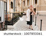 enchanting fair haired lady in... | Shutterstock . vector #1007853361