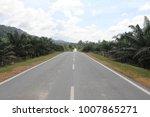 road to taman negra  malaysia  | Shutterstock . vector #1007865271