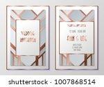 design templates for flyers ... | Shutterstock .eps vector #1007868514