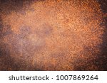 rusty metal texture background... | Shutterstock . vector #1007869264
