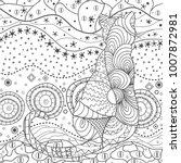 cat. wallpaper. design... | Shutterstock .eps vector #1007872981