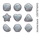cartoon grey stone assets for...