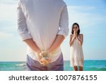 man making proposal with... | Shutterstock . vector #1007876155