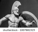Roman Statue Of Warrior In...