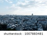 paris viewed from notre dame on ... | Shutterstock . vector #1007883481