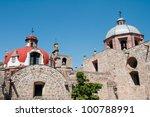 el carmen convent  morelia ... | Shutterstock . vector #100788991