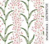 seamless pattern with... | Shutterstock .eps vector #1007890735