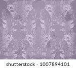 vector luxury baroque pattern... | Shutterstock .eps vector #1007894101