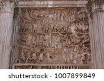 details of septimius severus...   Shutterstock . vector #1007899849