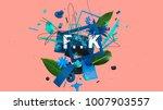 wonderful 3d rendered... | Shutterstock . vector #1007903557