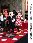 Small photo of LOS ANGELES - JAN 22: Mickey Mouse, Minnie Mouse at the Minnie Mouse Star Ceremony on the Hollywood Walk of Fame on January 22, 2018 in Hollywood, CA