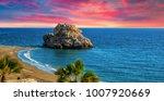 penon del cuervo. costa del sol ... | Shutterstock . vector #1007920669