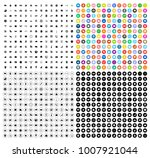 business icons set   Shutterstock .eps vector #1007921044
