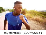 close up portrait of fit young... | Shutterstock . vector #1007922151