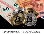 physical version of bitcoin... | Shutterstock . vector #1007923231