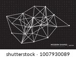 vector abstract circuit... | Shutterstock .eps vector #1007930089