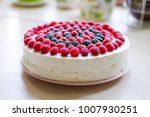 home mousse cake with cottage... | Shutterstock . vector #1007930251