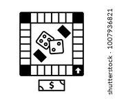 board game icon  icon... | Shutterstock .eps vector #1007936821