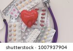pharmacy background on a white... | Shutterstock . vector #1007937904