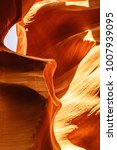 Small photo of Geological Formation of the Antelope Canyon, Arizona, USA