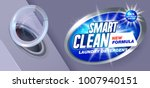 smart clean washing.template... | Shutterstock .eps vector #1007940151