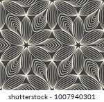 minimalistic repeating linear... | Shutterstock . vector #1007940301