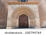 Entrance Of The Cathedral Of...