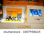 Small photo of SYDNEY, AUSTRALIA – On January 23, 2018. – Cozmo is a child-friendly, interactive remote controlled telerehabilitation robot with Mission Control input device, and accompanying software.
