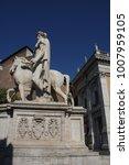 piazza del campidoglio   statue ...   Shutterstock . vector #1007959105