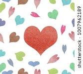 watercolor seamless pattern | Shutterstock . vector #1007962189