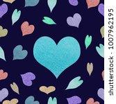 watercolor seamless pattern | Shutterstock . vector #1007962195