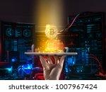 digital monitoring  checking...   Shutterstock . vector #1007967424