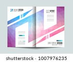 brochure template  flyer design ... | Shutterstock . vector #1007976235