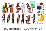 business woman character vector.... | Shutterstock .eps vector #1007979439