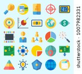 icons set about marketing with...   Shutterstock .eps vector #1007982331