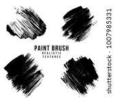 hand drawn various black...   Shutterstock . vector #1007985331
