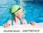 portrait of little cute child...   Shutterstock . vector #1007987419