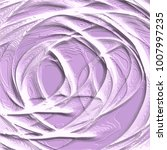 lavender violet abstract 3d... | Shutterstock .eps vector #1007997235