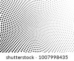 abstract halftone wave dotted... | Shutterstock .eps vector #1007998435