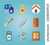 icon set about real assets.... | Shutterstock .eps vector #1008000925