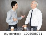 two business competitors... | Shutterstock . vector #1008008731